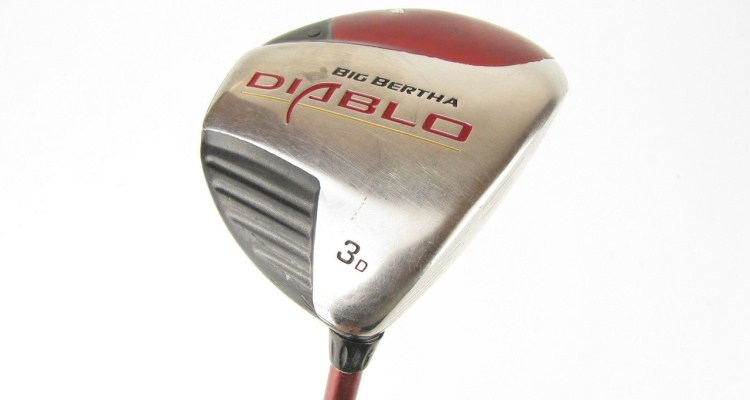 Callaway Big Bertha Diablo Fairway Woods